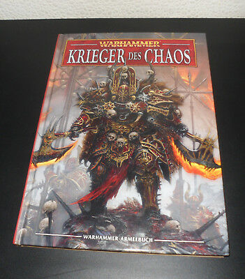 Warhammer - Krieger des Chaos - Armeebuch Hardcover 8.Edition