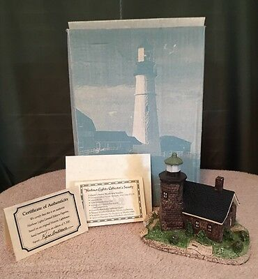 1991 Harbour Lights #112 Sand Island Wisconsin WI Historical Lighthouse Lmt Edit