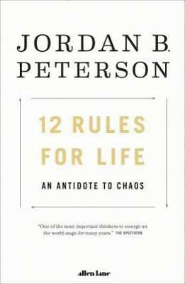 12 Rules for Life: An Antidote to Chaos by Jordan Peterson Hardback Free Ship
