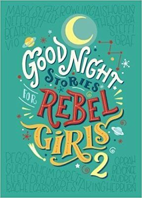 NEW Good Night Stories for Rebel Girls 2 By Elena Favilli Hardcover - Free Ship