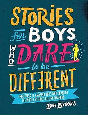 NEW Stories for Boys Who Dare to be Different Hardback - Free Shipping