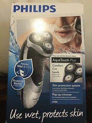 Brand New never used Philips Aqua Touch plus electric shaver use wet or dry