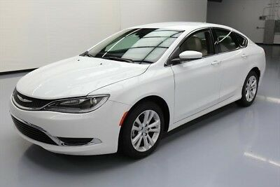 Chrysler 200 Series Limited Texas Direct Auto 2015 Limited Used 2.4L I4 16V Automatic FWD Sedan Premium