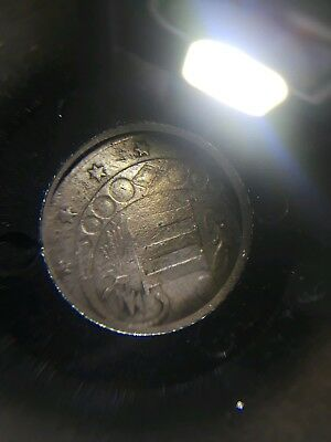 3 cent piece silver 1856 Rare Book value $65
