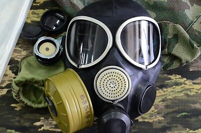 New Russian  Army Gas Mask PMK-3  Full Set