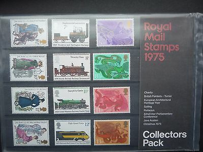 1975 Royal Mail Collectors  Year Pack