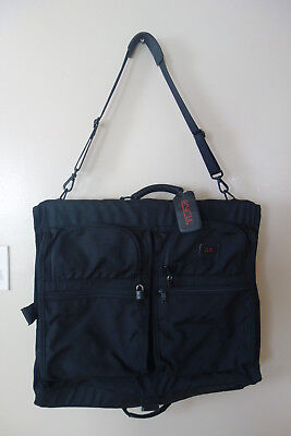 Tumi Garment Bag Bifold Travel Suit Carry On Large Luggage Made In Usa