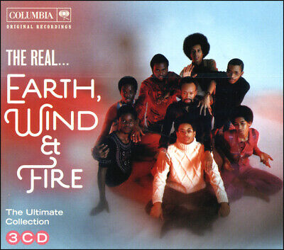 EARTH WIND & FIRE * 45 Greatest Hits * NEW 3-CD Boxset * All Original Versions