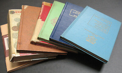 Vintage - Lot of 7 Coin Books - Canada, United States, Mexico, Paper Money World