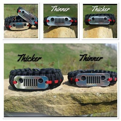 Jeep Grille Bracelet Custom Made In Usa With Free Shipping