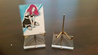 40 Single Post Display Stands For Art Cards Aceo Atc Postcards