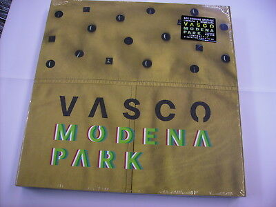 Vasco Rossi - Modena Park - 5Lp Vinyl Boxset New Sealed 2017 - Copy # 2574