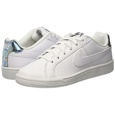 bianco 12 Nike Wmns Court RoyaleScarpe Donna white/metallic bf8