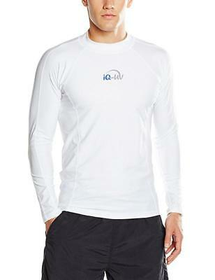 iQ-Company Herren UV-Shirt IQ 300 Watersport Long Sleeve, White, XL, 646122_2100