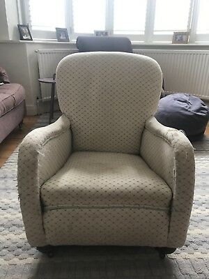 Antique Fireside Chair Armchair Victorian
