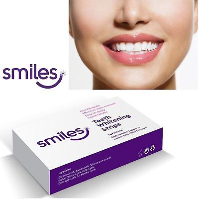 28 3D Professional Teeth Whitening Strips Whitestrips Safe 14 Pouches Bleaching