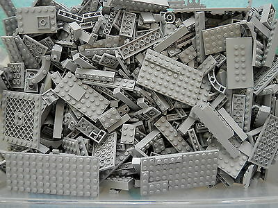 LEGO 1//4 lb Bulk Lot of White Bricks Plates Specialty Parts //Pounds