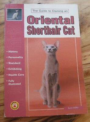 The Guide to Owning an Oriental Shorthair Cat by Lynn Miller