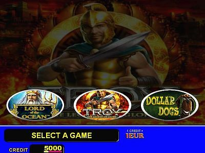 Gaminator  Troy, System for Pc Based Slot Machine Professional Touch Version