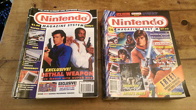 Nintendo Magazine System - Issues 1 to 21 (and 28) & MANY EXTRAS!!! VHS & CD!!!