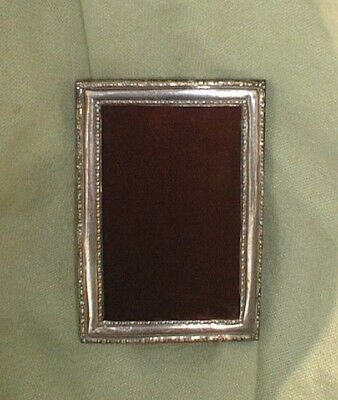 Solid Silver photograph frame. Birmingham. 1917