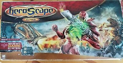 Heroscape Master Set Rise of the Valkyrie Strategy Board game near complete