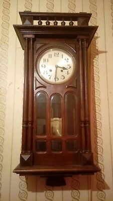 Very nice Edwardian french fontenoy wall clock