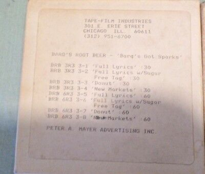 (431) Vintage 1983 Barq's Root Beer  Promo Radio Tapes Pete A, Mayer Advertising