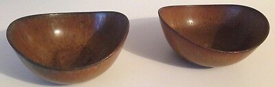 Pair of Gunnar Nylund Bowls for Rorstrand Sweden Excellent Midcentury
