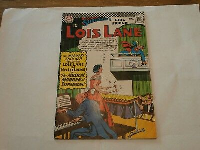 *AR* DC Comic Lois Lane #65 May 1966 The Musical Murder of Superman!