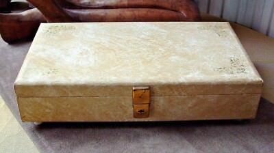 Tallent Of Old Bond Street Music Box/jewellery & Manicure Box Spare/repair