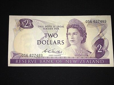 Reserve Bank If New Zealand $2 P164b 1968-75