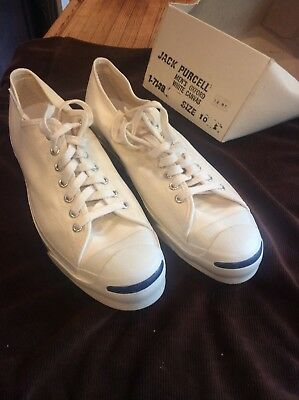 "Vintage JACK PURCELL Canvas Shoes Size 10 Men""s NIB"