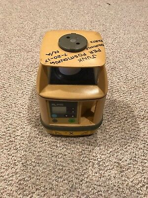 Topcon RL-H1S Single Slope Rotary Laser Level FOR PARTS REPAIR AS IS