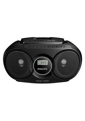 Philips AZ215B Portable CD Player with Radio, Jack (3.5 mm), Compact - Black