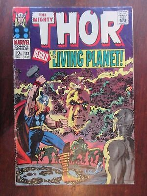 The Mighty Thor 133  First Appearance Ego the Living Planet
