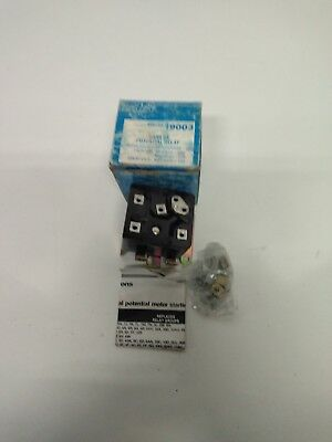 Mars/line General Electric 19003 Mars 64 Potential Type Motor Starting Relay Nib