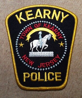 NJ Town of Kearny New Jersey Police Patch