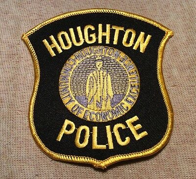 MI Houghton Michigan Police Patch