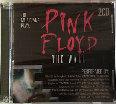 PINK FLOYD The Wall Top Musicians Play 2CD Set Brand New Various Artists