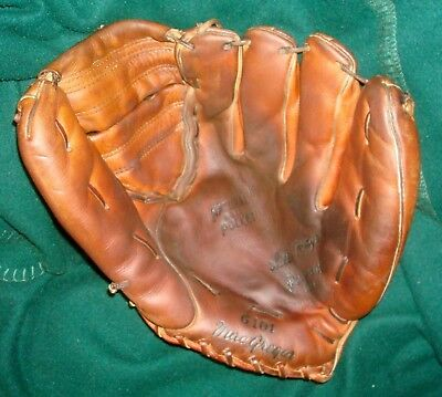 WILLIE MAYS Personal Model MacGregor G101 Vintage Baseball Glove; USA