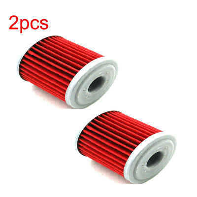 2x Oil Filter For Suzuki RMZ450 RMZ250 RMZ450Z Kawasaki KX250F Beta EVO 250 300