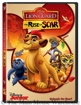 Disney Junior Lion King Kids TV Show Spinoff The Lion Guard The Rise of Scar DVD