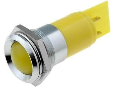 SSBD2231249 Indicator LED recessed yellow 24÷28VDC 24÷28VAC IP67 SSBD22H1249