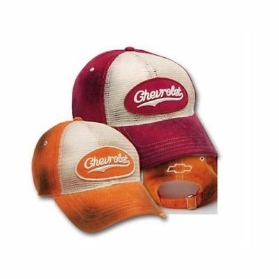 Ralph White Chevrolet Cap Chevrolet Bowtie Red One Size Fits All