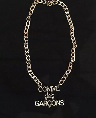Comme Des Garcons Gold Plated Chain. Very Very Rare Ítem.