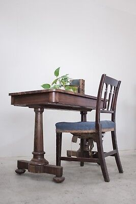 Antique Regency Miles And Edwards Rosewood Writing Table