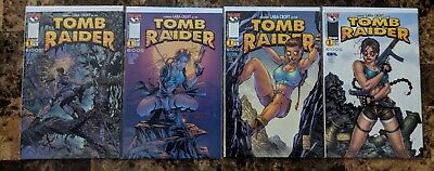 Tomb Raider 1 4 Variants VF/NM Image Top Cow