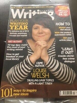 Writing Magazine February 2016 Louise Welsh Crime Author