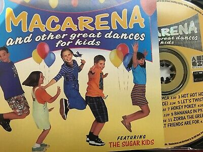 THE SUGAR KIDS - Macarena And Other Great Dances For Kids CD ABC For Kids / EMI